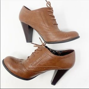 American Eagle | Ankle Booties Brown Size 8